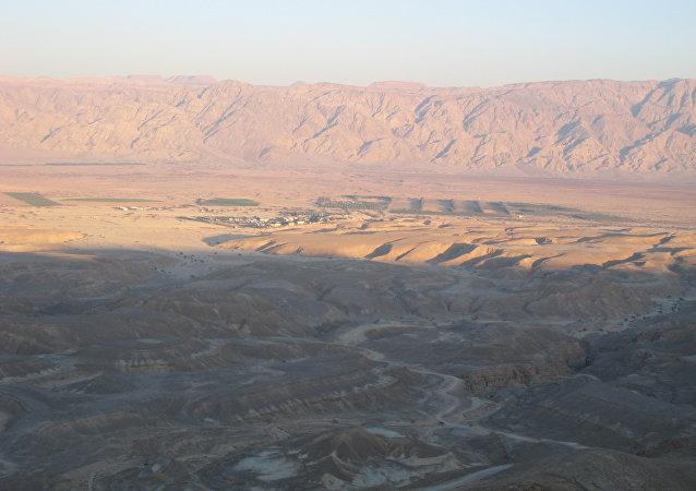 El desierto del Aravá