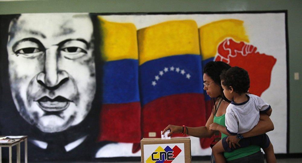La votación en Venezuela (archivo)