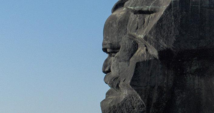 Monumento a Karl Marx en Alemania