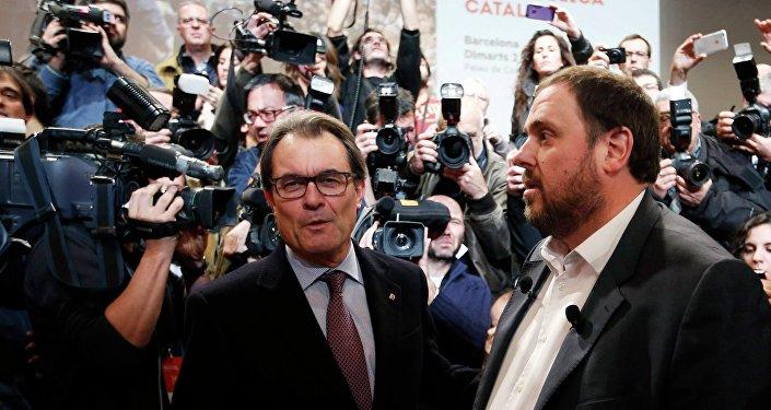 Oriol Junqueras, exvicepresidente de la Generalitat de Cataluña (archivo)
