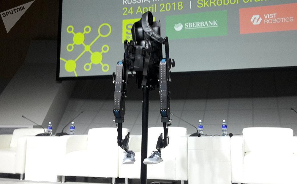 El exoesqueleto ruso de la nueva generación