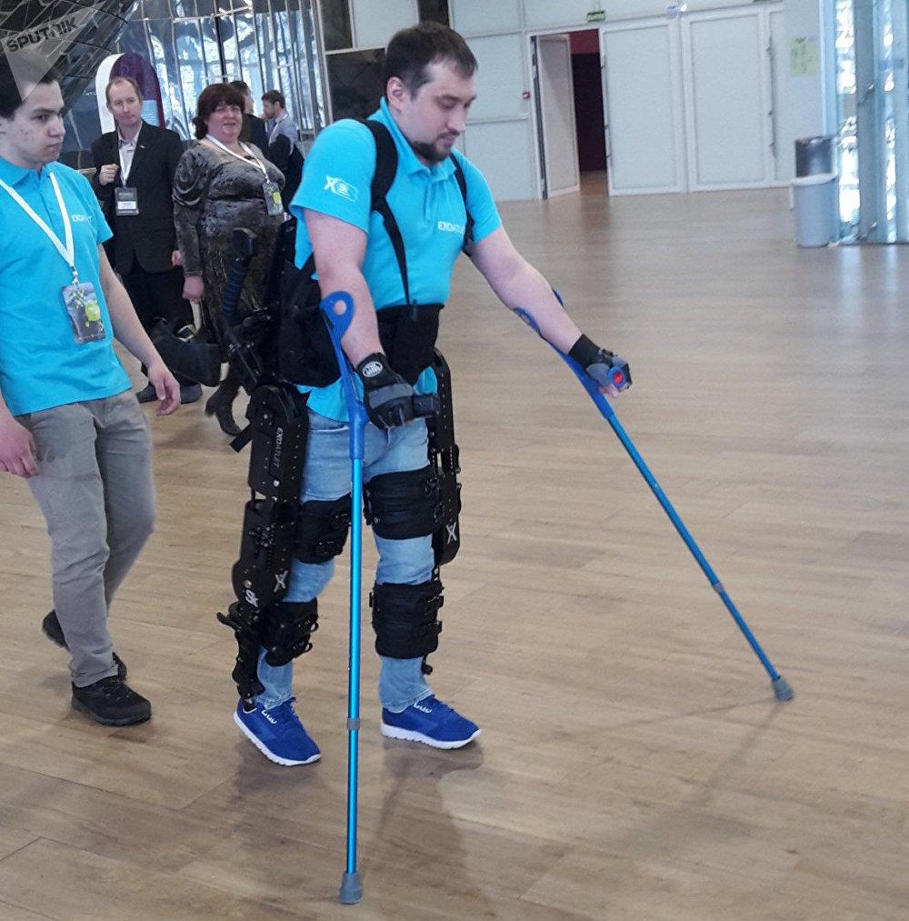 El exoesqueleto ruso ExoAtlet