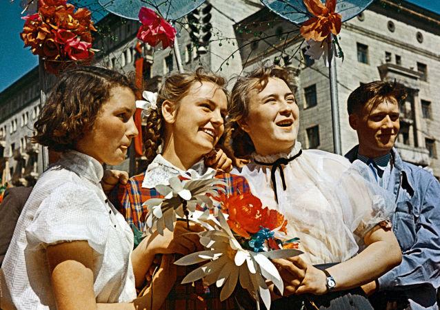 Paz, trabajo y mayo: así celebraban los soviéticos el Día Internacional de los Trabajadores