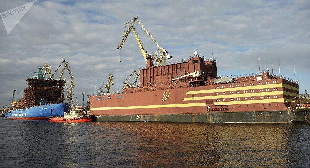 Resultado de imagen para Central nuclear flotante rusa