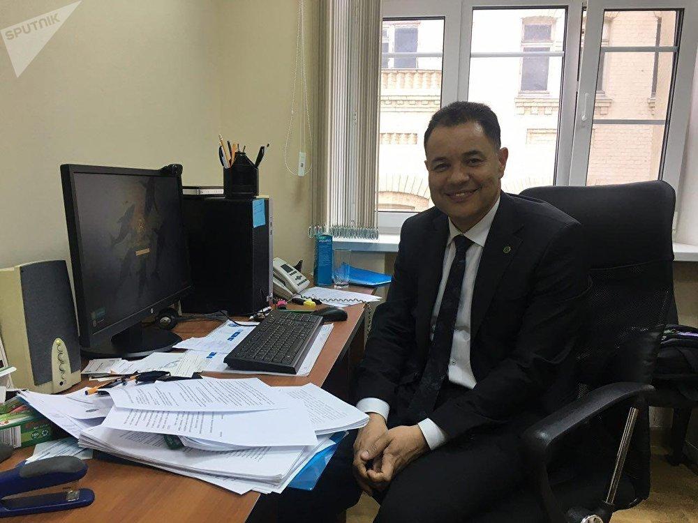 Cósam de Carvalho Coutinho, agregado agrícola de la Embajada de la República Federal de Brasil en Moscú