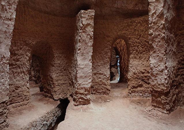 Una cueva en Irán, imagen referencial