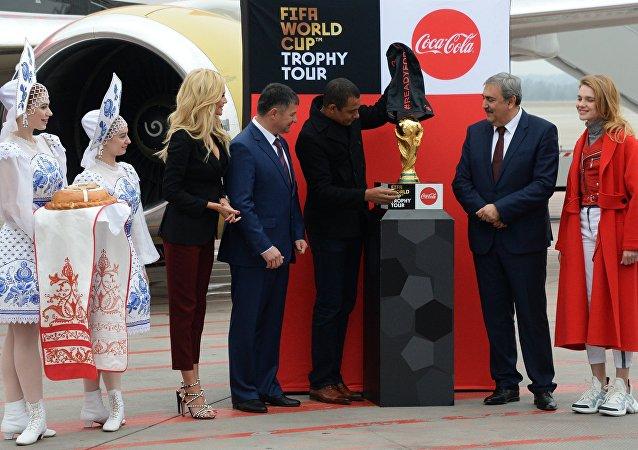 La Copa del Mundial Rusia 2018 llega a Vladivostok
