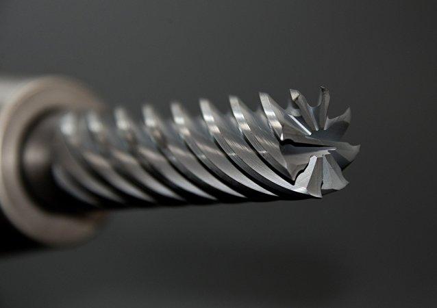 La broca de un taladro