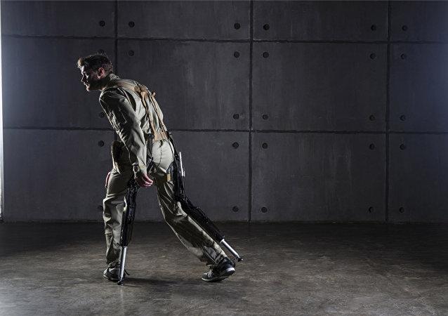 El exoesqueleto industrial ruso ExoChair