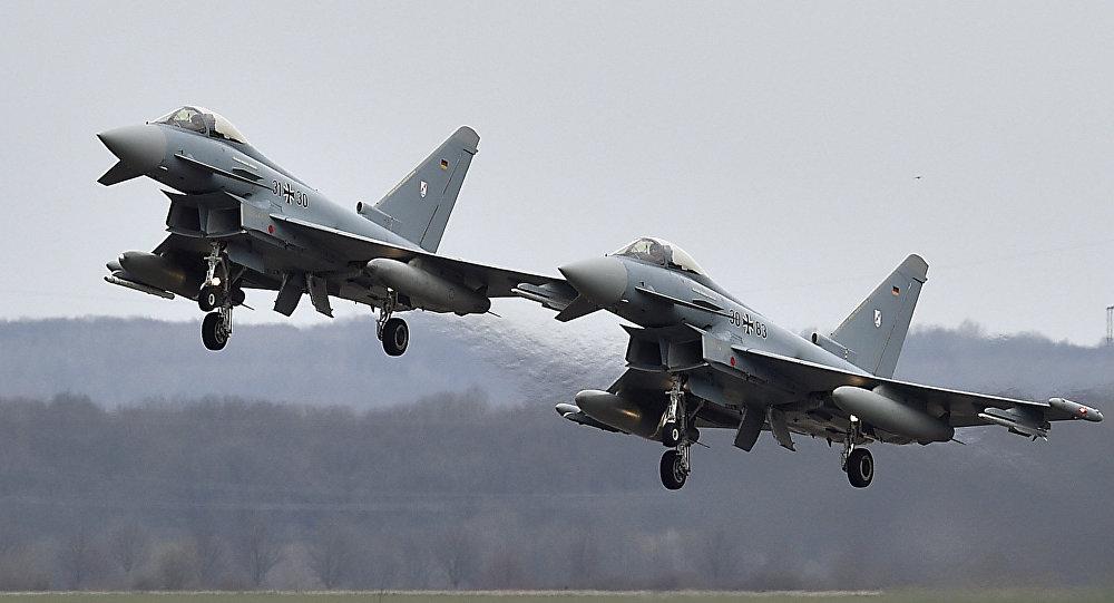 Cazas alemanes Eurofighter