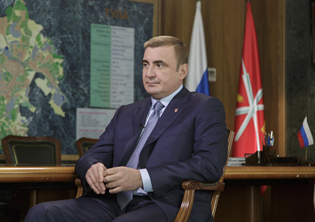 Alexéi Diumin, gobernador de la región Tula