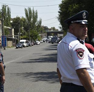 Policía de Armenia