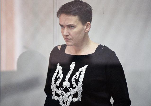 Nadezhda Sávchenko, diputada de la Rada Suprema ucraniana