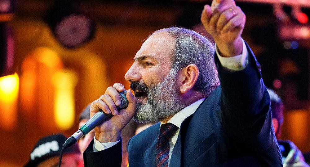 Nikol Pashinián, diputado opositor armenio