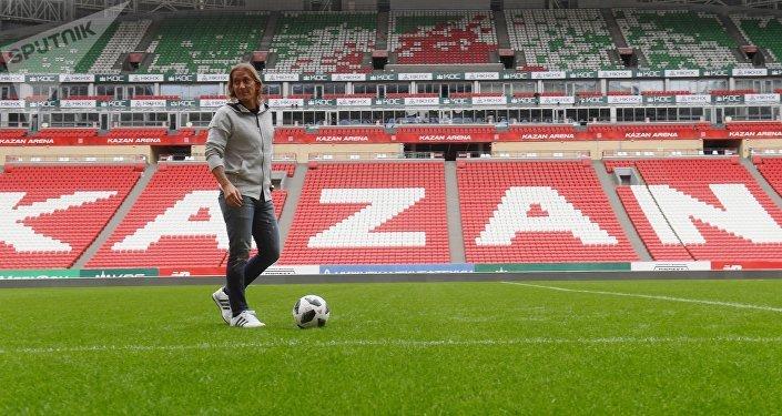 Míchel Salgado, el ex jugador del Real Madrid y de la selección de España