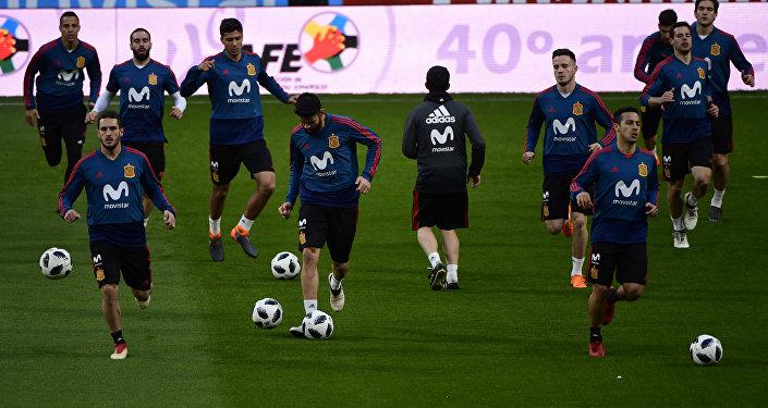 La selección de fútbol de España