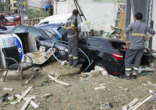 Consecuencias de la inundación en Ankara