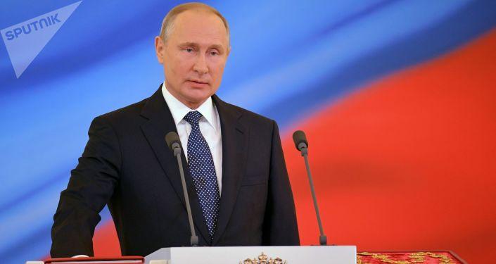 Los momentos más emotivos de la toma de posesión de Vladímir Putin