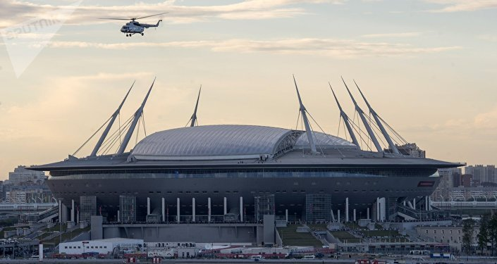 El estadio de San Petersburgo