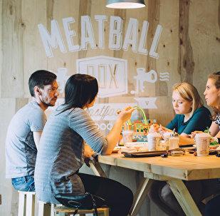 Restaurante Meatball Box