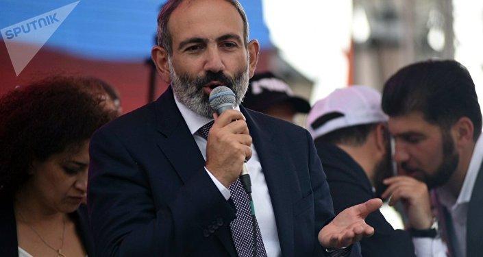 Nikol Pashinián, elegido primer ministro de Armenia