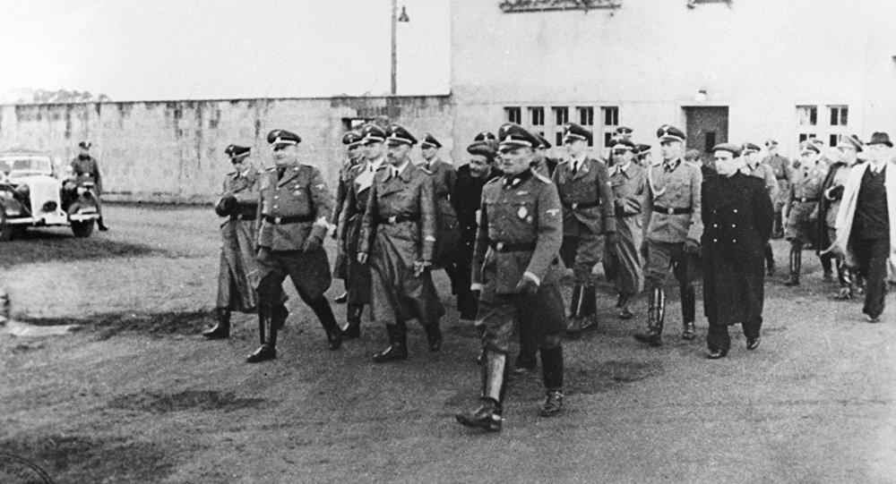 Campo de concentración de Sachsenhausen, Alemania, 1940