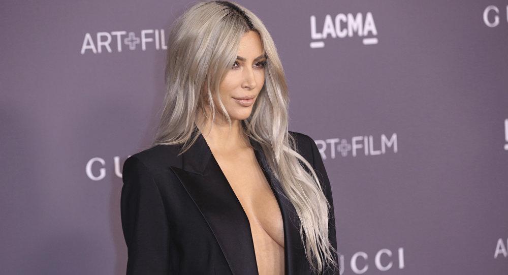 Kim Kardashian, modelo estadounidense