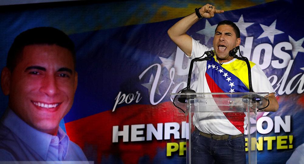 Luis Alejandro Ratti, candidato presidencial venezolano