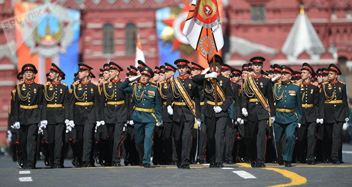 Desfile del Día de la Victoria en la Plaza Roja, Moscú, Rusia (archivo)