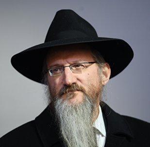 Berel Lazar, rabino jefe de Rusia