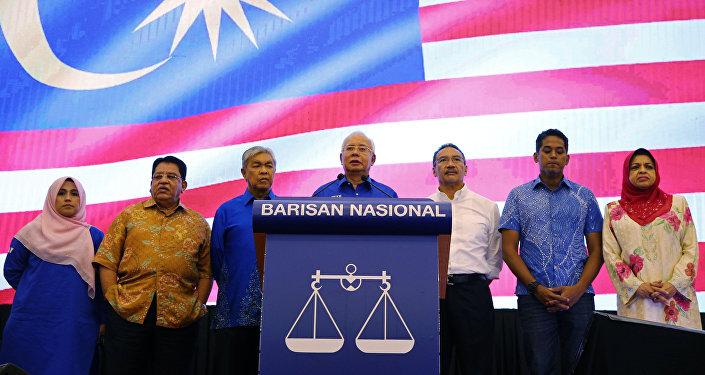 Najib Tun Razak, primer ministro de Malasia