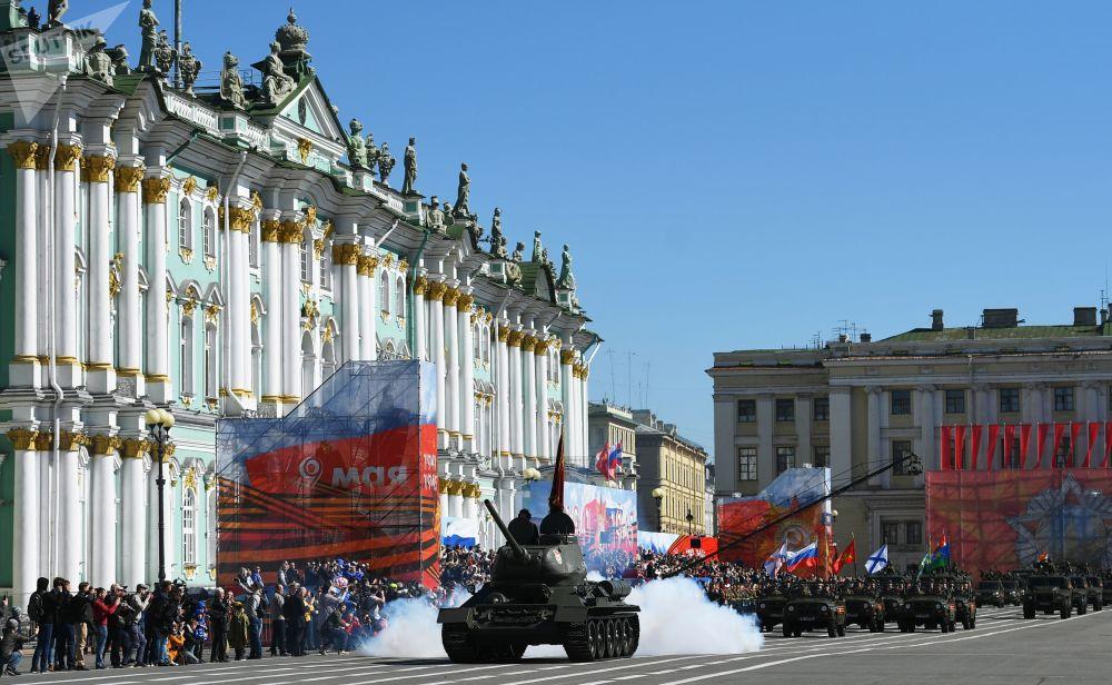 Lanzacohetes, historia y orgullo: así ha celebrado Rusia el Día de la Victoria