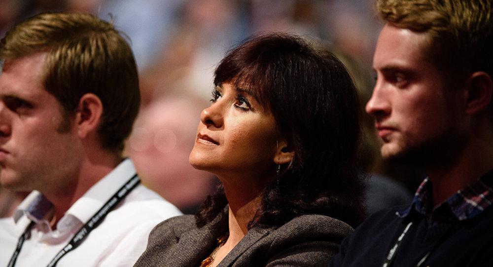 Laura Alvarez, esposa del líder del Partido Laborista británico Jeremy Corbyn
