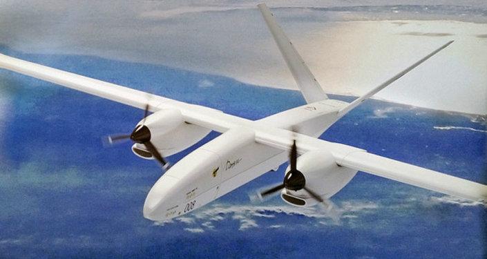 Una imagen del dron pesado ruso Altius-M / Altaír