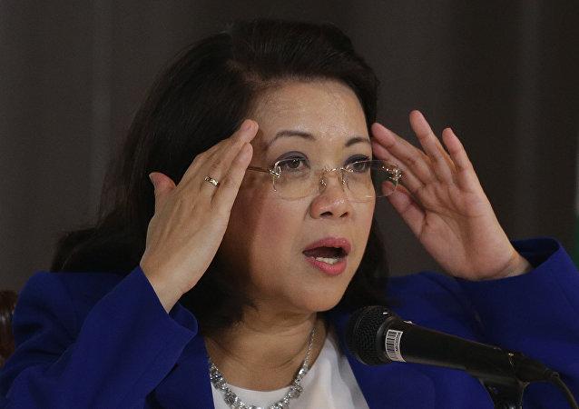 Exjueza presidenta de la Corte Suprema de Filipinas, María Lourdes Sereno