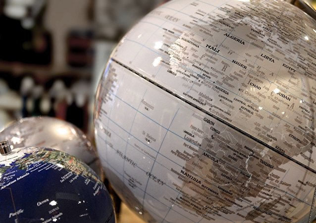 África en el globo (imagen referencial)