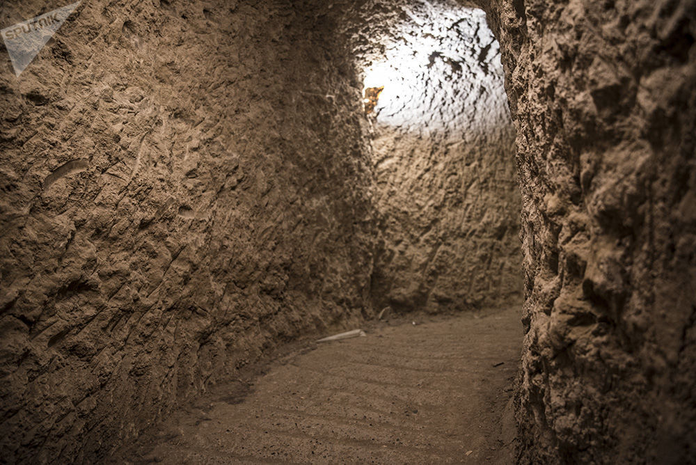 La antigua localidad de Ouyi en la provincia iraní de Isfahán