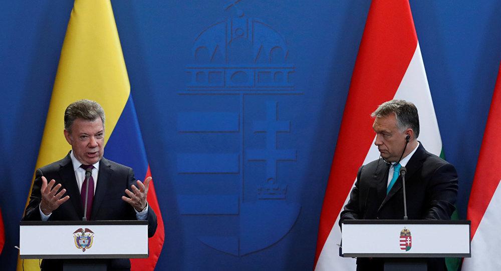 Santos mantiene una visita hoy a Hungría para fortalecer las relaciones bilaterales