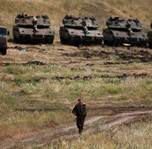 Fuerzas Armadas de Israel en los Altos del Golán
