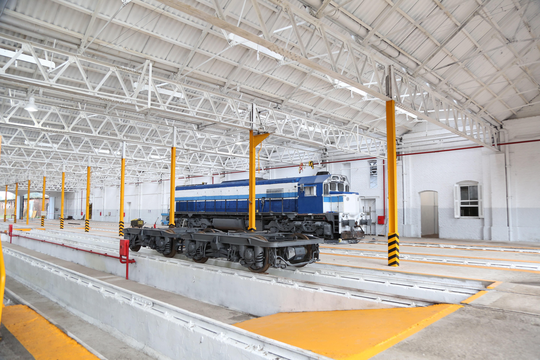 Unos tres millones de dólares invirtió la empresa rusa TMH en la restauración de Talleres Mechita en Argentina