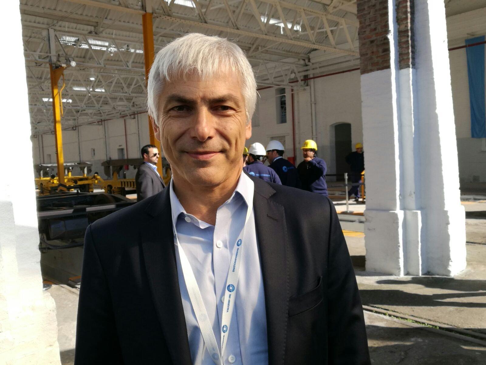 Guillermo Fiad, presidente de Trenes Argentinos Infraestructura