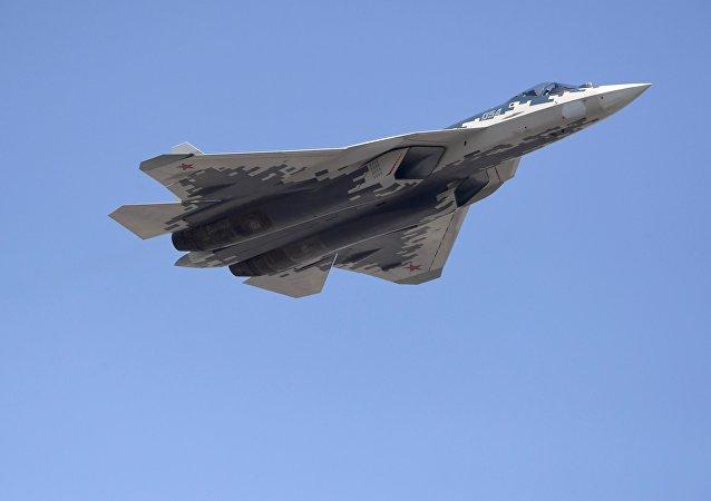 El caza polivalente ruso Su-57