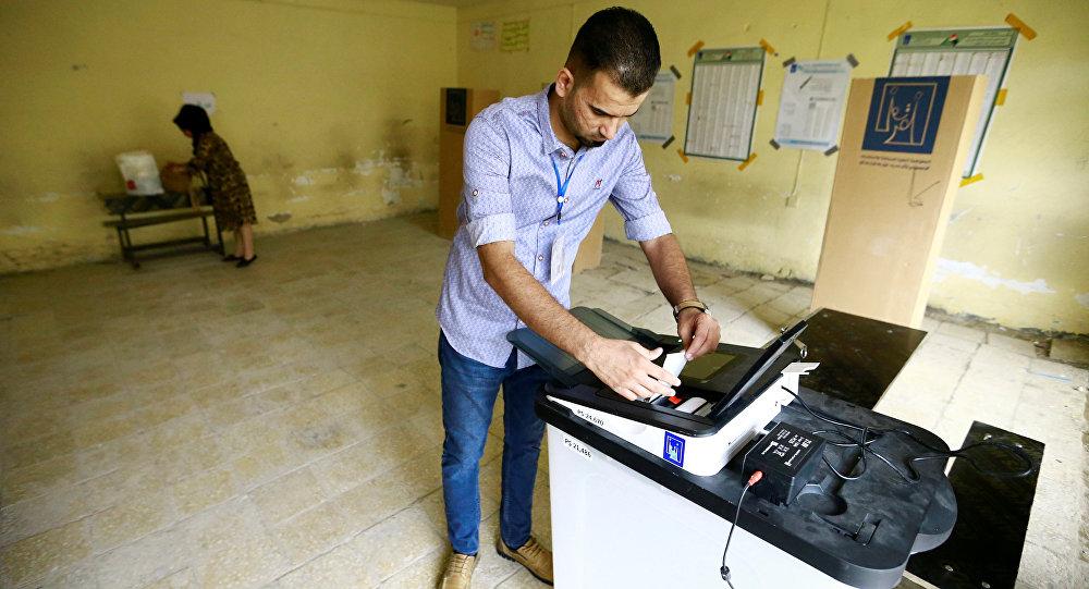 Más de 44 % de los iraquíes participa en comicios parlamentarios
