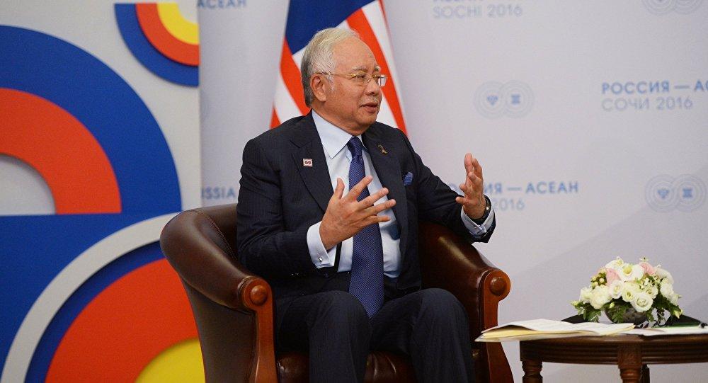 Najib Tun Razak, el ex primer ministro de Malasia