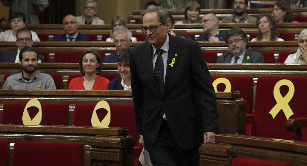 Quim Torra, el candidato a la Presidencia de la Generalitat