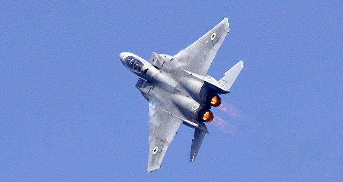 Un F-15 de Israel