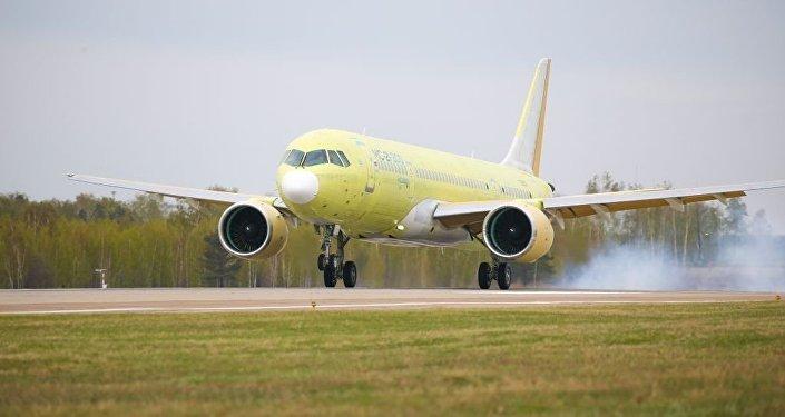El segundo prototipo del MC-21-300 finaliza su primer vuelo