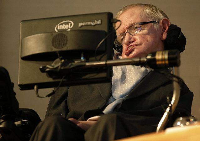 Stephen Hawking, famoso físico británico