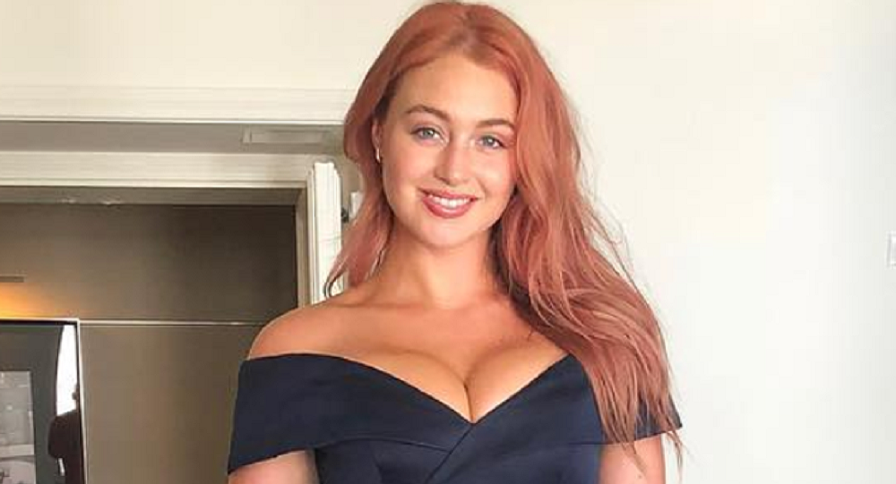 Iskra Lawrence, modelo británica
