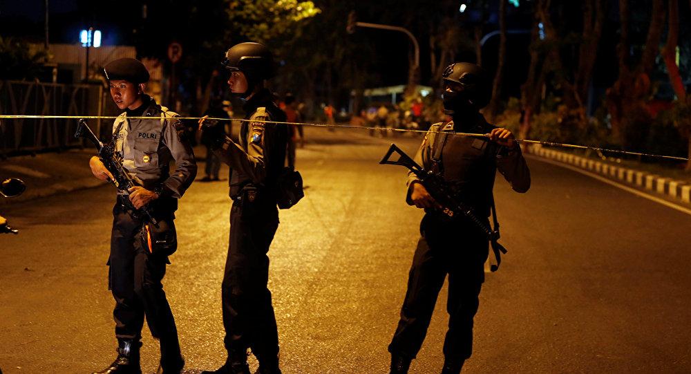 La Policía indonesia